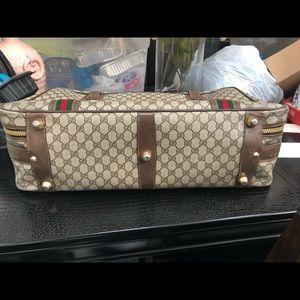 e9d966cef17 Gucci Bags - Gucci Vintage Monogram Suitcase Travel Luggage